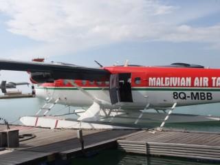 Adalar arası transferlerde Maldivian air taxi